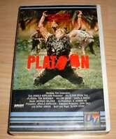 VHS - Platoon - Oliver Stone - Charlie Sheen - 1986 80er - Videokassette