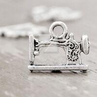 50pcs Tibetan Silver Charm Spacer Pendant Findings Motorcycle 25x13x2 Wholesale