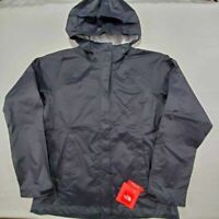 The North Face Dryvent Womens Venture Rain Jacket Black Waterproof Hooded M New