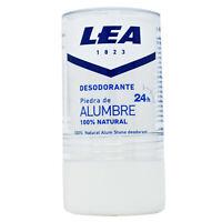 LEA Natural Alum Stone Block Roll-On Deodorant & Post Shave Treatment 120g