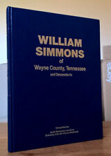 William Simmons of Wayne County Tennessee and Descendants TN genealogy history