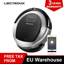 Liectroux B6009 Wifi APP Control Robotic Vacuum Cleaner with 2D Map Smart Memory