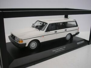 Volvo 240GL 240 Gl Break 1986 White 1/18 minichamps 155171412 New