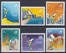 Qatar 2004 ** Mi.1246/51 Asien Spiele Asian Games