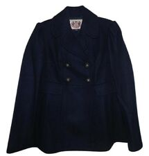 Juicy Couture Wool Blend Women Pea Coat Size: M Retail $328