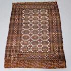 Vintage Rug Bukhara Fringed Wool 1.8 X 1.3 Metres Bokhara