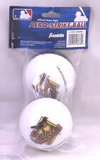 Baltimore Orioles 2-pack Aero-Strike Wiffle Balls Ball Franklin NEW MLB