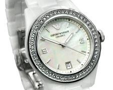 ** NEW **Emporio Armani® watch AR1426 Swarovski - Ladies White Ceramica
