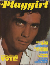 PLAYGIRL March 1976 RAQUEL WELCH Mike Brock nude centerfold MARC RODRIGUEZ