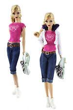1 Set Fashionistas Kleidung Prinzessinnen Kleider Für Barbie Puppe Doll z33