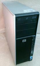 HP Z400 Xeon w3503 2.4GHz 6GB 1TB DVDRW V5800 Win10 tower computer workstation