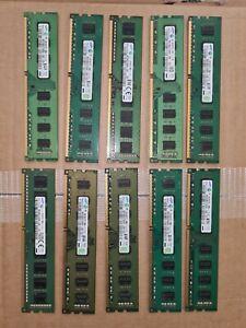 Desktop PC RAM 4GB 8GB 16GB PC3-12800U PC3-10600 DDR3-1600MHZ Samsung Hynix