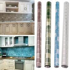 Tiles Wall Stickers Mosaic Self-adhesive Anti Oil Waterproof Bathroom Kitchen C