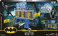 BATMAN 6058292 - 3-in-1 Batcave Playset with Exclusive 4-inch BATMAN Action