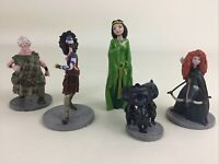 Disney Brave Deluxe Figurine Set Merida Queen Elinor Lord Dingwall 5pc Lot 2012