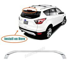 Accessory Chrome Rear Tail Brake Stop Light Cover Trim For 2013-2018 Ford Escape