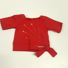 American Girl Place New York Red Star Shirt (A20-14)
