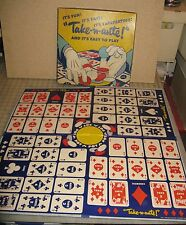 Vintage TAKE-N-ANTE Playing Card Board Game - Zondine Game Co. Los Angeles CA