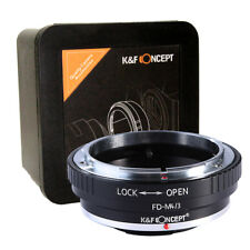 K&F Concept FD-M4/3 Adapter Canon FD to Micro Four Thirds M42-MFT M43 (KF06.091)