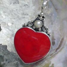 Perlen-Halsketten & -Anhänger mit Korallen-Sets