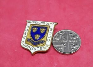 OLD SHREWSBURY TOWN FOOTBALL SUPPORTERS CLUB PIN BADGE (y20)