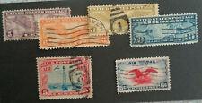 1926-38     6 Airmails (Scott C-7//C23) USED