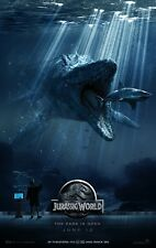 "Jurassic Park movie poster 11"" x 17"" Jurassic World poster (style e) Chris Pratt"