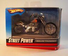 3 Mattel Hot Wheels Metall Motorrad 1:18 Sammlerstück Fat Ride Rollin Thunder