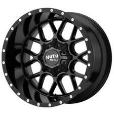 22x12 Moto Metal Wheels Mo986 Siege 8x170 Gloss Black Rims 44 S46 Fits Nissan Armada