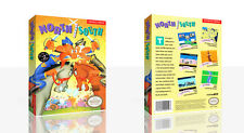 North and South NES Reproduction Spare Game Case Box + Cover Art Work (No Game)