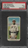 Rare 1909-11 T206 HOF Rube Marquard Hands Thighs Piedmont 150 New York PSA 3.5