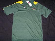 Team Apparel Men's Green Bay Packers Polo Shirt NWT Small