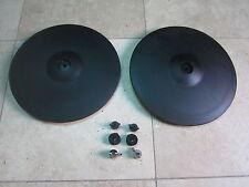 TWO Roland CY-14C V Drum Crash Cymbal Cy 14c