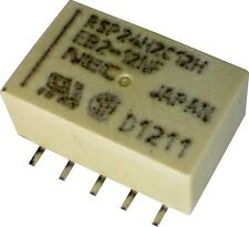 NEC Miniature Non Latching DPDT Relay 12V 1A SMD SMT EB2-12NF-L