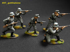 airfix 1/32 painted German infantry. professionally painted x 5 special offer