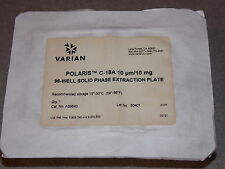 VARIAN POLARIS C18A 10UM/10MG 96 WELL SOILD PHASE EXTRACTION PLATE CAT#A59640