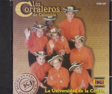 Los Corraleros de Colombia La Universidad de la Cumbia CD New Nuevo Sealed