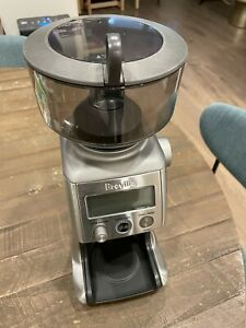 Breville Electric Coffee Grinder with All accessories And Box BCG820BSSXL