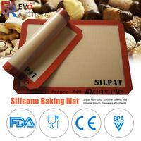 Silicone Souple Plaque Tapis de cuisson Feuille Pâte Pâtisserie Gâteau Repas Mat