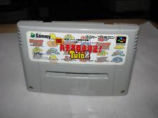 Jissen Pachislot HIsshouhou Twin 2 Super Famicom SFC Japan import