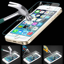 100% New Genuine Tempered Glass Film Screen Protector for Apple iPhone 4 4G 4S