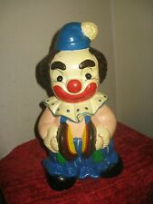 Clown Bank with Tambourine