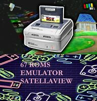 67 GIOCHI GAMES ROMS PER NINTENDO SATELLAVIEW  RETRO GAME ARCADE EMULATORE