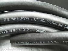 "1/2"" ID (12.7mm) Fuel Hose - Made in USA Gates or Dayco - 6 inch - Ships Fast!"