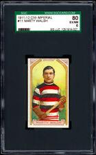 1911-12 C55 Imperial Tobacco #11 Marty Walsh SGC 80