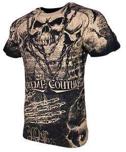 Xtreme Couture Affliction Men's T-Shirt KILLER Black Tattoo Biker S-5XL
