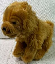 Ganz Webkinz Signature Chow Chow Plush Dog Stuffed Animal Toy Brown No Code