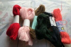 Job Lot Crewel Embroidery thread