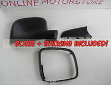 VW Transporter T5 + VW Caddy - WING MIRROR PLASTIC CASING + GLASS - DRIVER SIDE