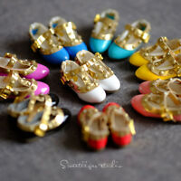 """【Tii】1/6 12"""" Blythe Pullip doll shoes Patent azone cherryB mmk clothes outfit"""